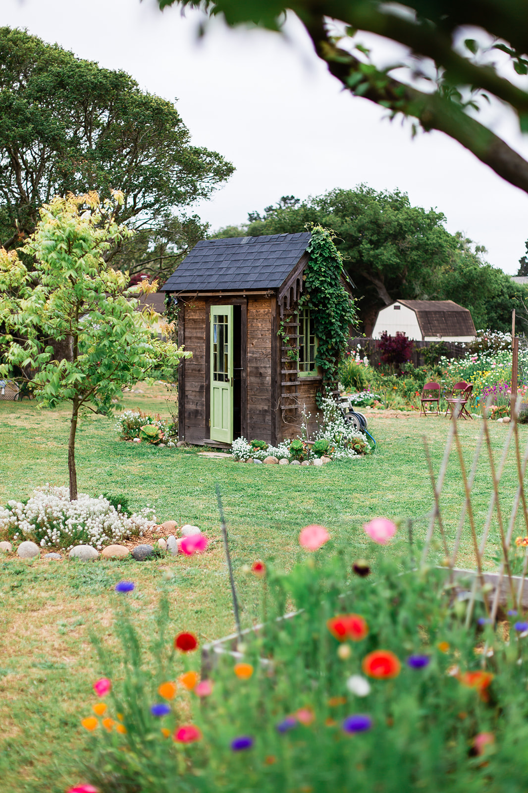 Secret Garden Party shed