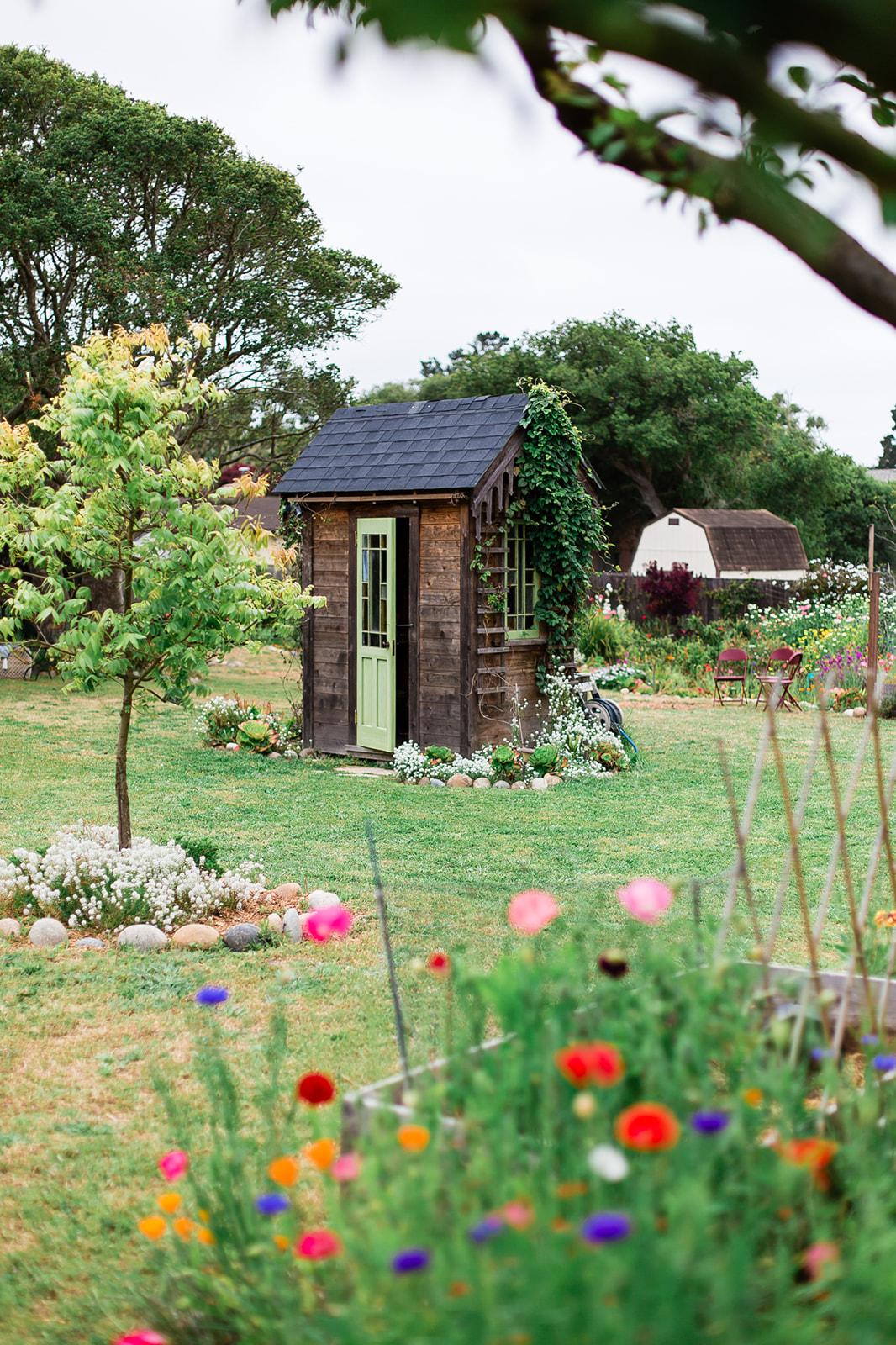 Secret Garden Party shed