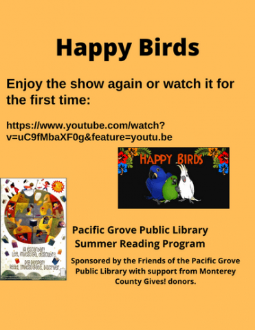 Happy Birds flyer