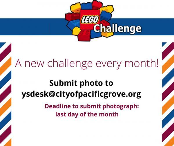 Lego Challenge Flyer